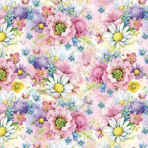 Упаковочная бумага ЗайкаМи Полевые цветы