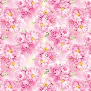 Упаковочная бумага ЗайкаМи Цветущие пионы