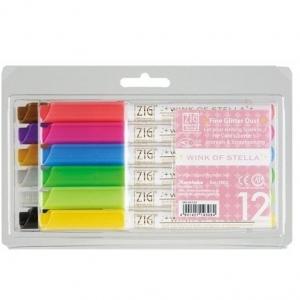 Набор маркеров с блестками