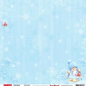 Зимняя ягодка Снегопад