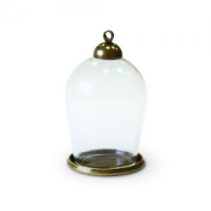 Набор стеклянный мини-колпак