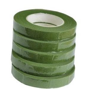 Флористическая лента зеленый