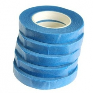 Флористическая лента синий