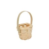 Плетеная мини-корзинка (бамбук)