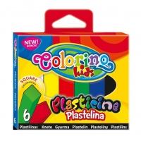 Набор пластилина COLORINO 6цв