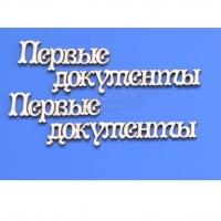 """""""Первые документы"""""""