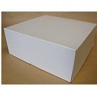 Коробка белая для торта