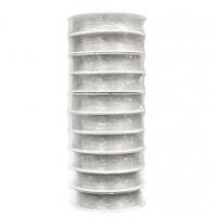 Нить силиконовая для бисера прозрачный матовый