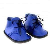Ботиночки для кукол (синие)
