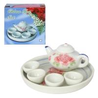 Набор фарфоровый чайный 'Розы'