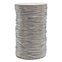 Шнур металлизированный (люрекс) серебро