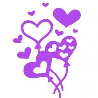 Ballon Heart (Шарики-сердечки)