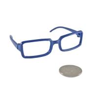 Очки пластиковые, цв. синие