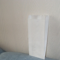 Пакет бумажный белый