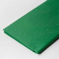 Бумага тишью с блестками , зеленый