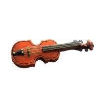Скрипка средняя в коробочке, дерево
