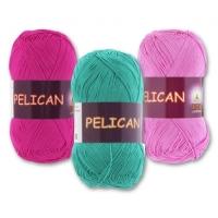 Pelican 100% хлопок двойной мерсеризации