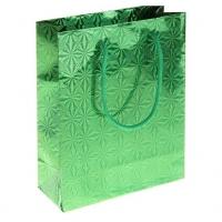 Пакет голография зеленый