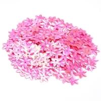 Пайетки (цветочек) розовый 50 гр