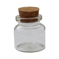 Стеклянная бутылочка с пробкой