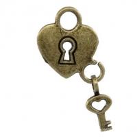 """""""Ключ от сердца"""" бронза"""