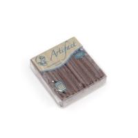 шоколадный с блестками