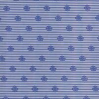 Штурвал синий