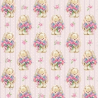 Упаковочная бумага ЗайкаМи Букет цветов