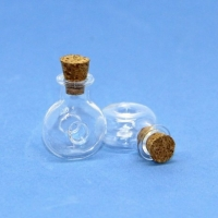 Стеклянные бутылочки с пробкой 1.5мл