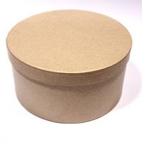 Заготовка коробки из папье-маше КРУГЛАЯ