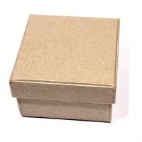 Заготовка коробки из папье-маше КВАДРАТНАЯ