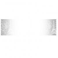 Прозрачный пластиковый скотч с принтом Эйфелева башня