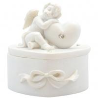 Шкатулочка с Ангелом с сердцем-2