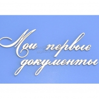 """""""Мои первые документы"""""""