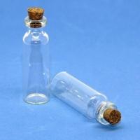 Стеклянные бутылочки с пробкой 5,0мл