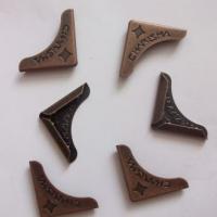 Металлические уголки, винтажная бронза