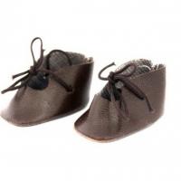 Ботиночки для кукол, цв.коричневый