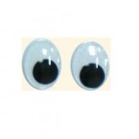 Глазки бегающие со зрачком