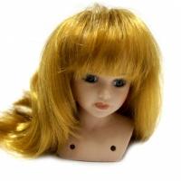 Волосы для кукол  (прямые) русые