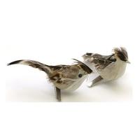 Птичка декоративная, цвет натуральный