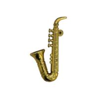 Саксофон, пластик (золото)