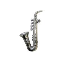 Саксофон, пластик (серебро)