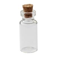 Стеклянные бутылочки с пробкой