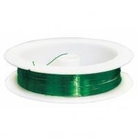 Проволока на катушке зеленый