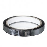 Флористическая лента серебро