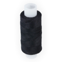 Швейные нитки (армированные) черные