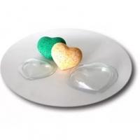 """Форма для бомбочек для ванн """"Сердце малое"""""""