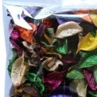 Сухоцветы листики ассорти
