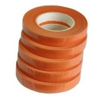 Флористическая лента оранжевый