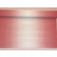 Бумага гофрированная бело-розовая 180 гр